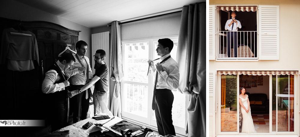 habillage mariés garçons