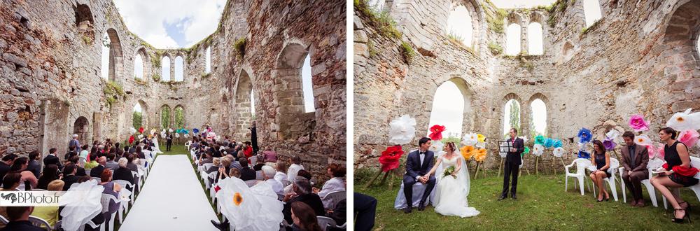 mariage château royal du vivier cérémonie laïque