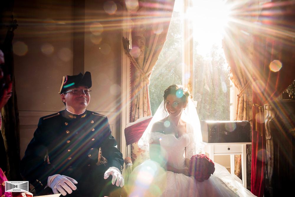 cérémonie laïque mariage au château de dangu