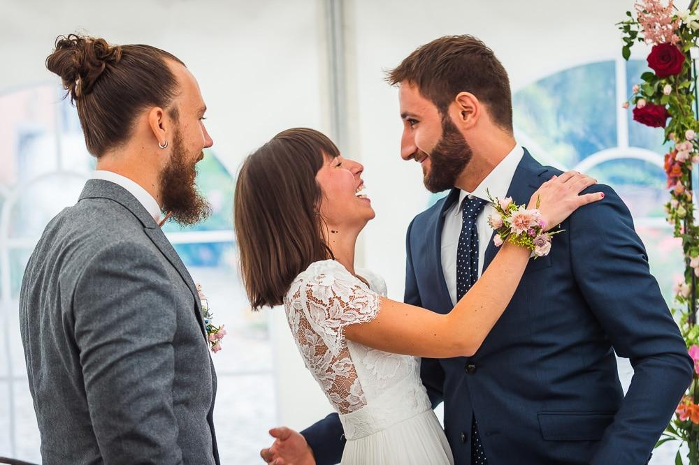 mariage fun au manoir de grande commune