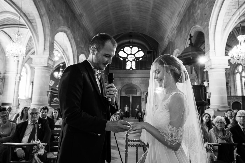 photogracérémonie de mariage - photographe mariage parisphe mariage paris cérémonie